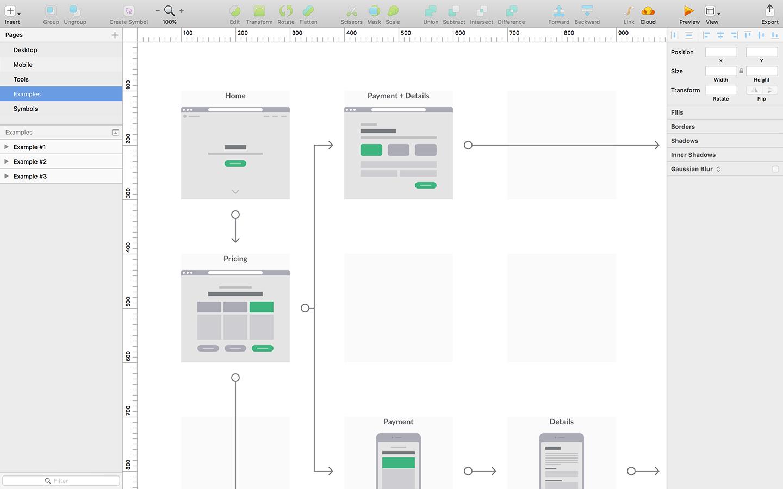 Wireframe Kits - Sketch, Figma & Illustrator